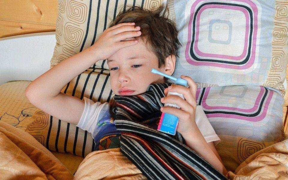 ziek kind verkouden