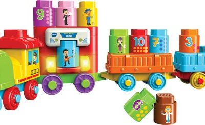 review bla bla blocks trein vtech