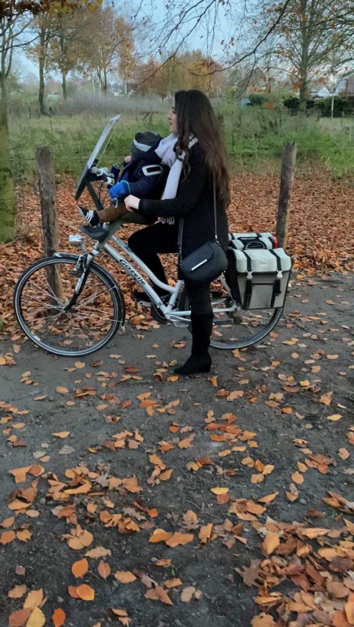 samen fietsen qibbel
