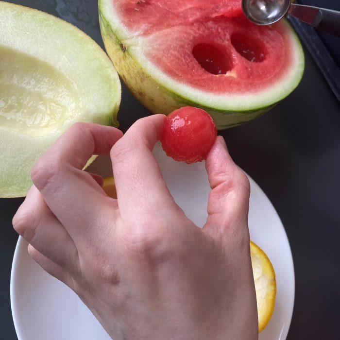 meloen scoop